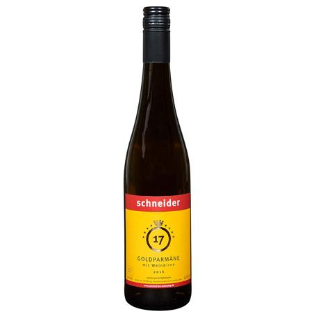 2016 Goldparmäne mit Weinbirne