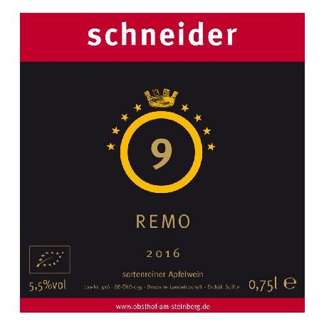 Etikett 2016 Remo Obsthof am Steinberg