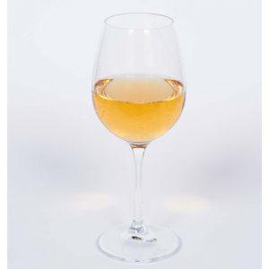 Jahrgangsapfelwein im Weinglas Obsthof am Steinberg