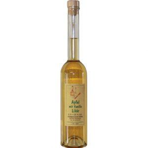 Apfellikör mit Vanillegeschmack