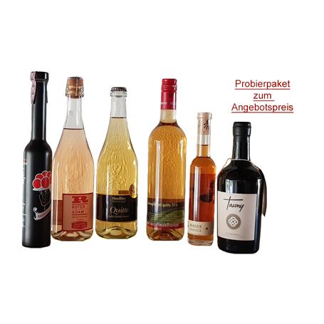 Probierpaket Apfelwein Spezialitaeten