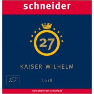 Apfel-Cidre Kaiser Wilhelm