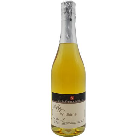 Alkoholfreier Apfelsecco Wildbirne